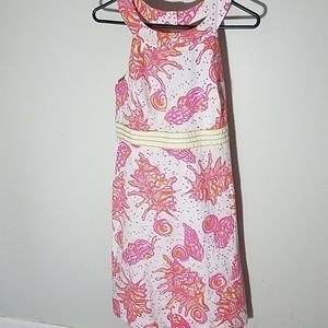 New Lilly pulitzer Conched Out Tinsley Dress